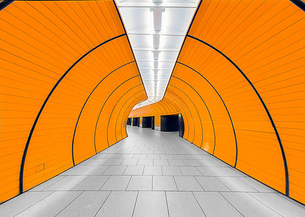 marienplatz subway station in munich - munich train station bildbanksfoton och bilder