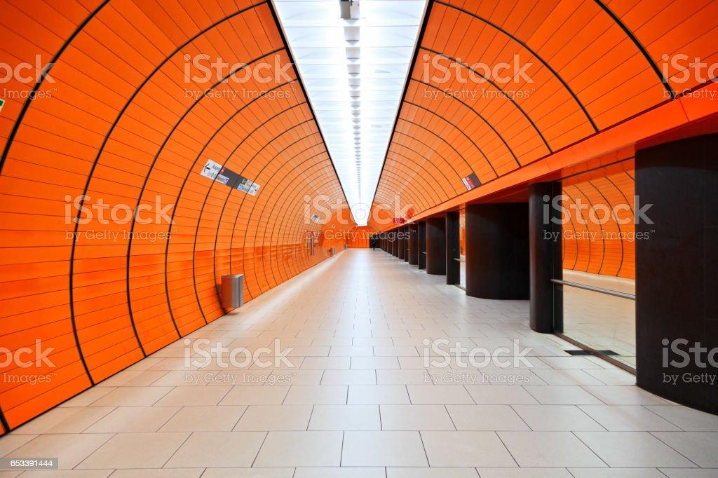 Marienplatz subway station, Munich, Germany stock photo