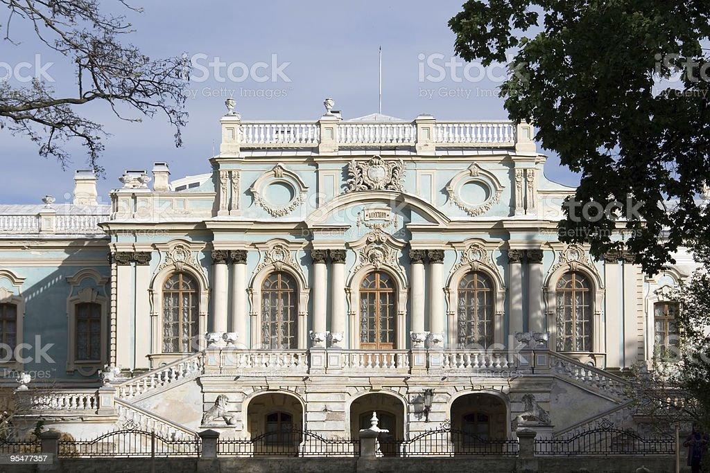 Mariinsky Palace royalty-free stock photo