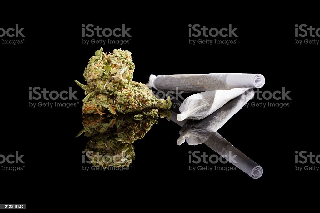 Marijuana background. stock photo