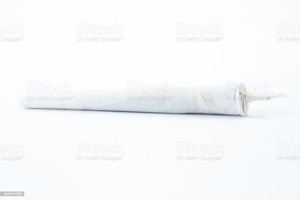 Marijuana cigarette stock photo