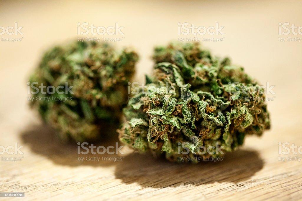 Marijuana close up. stock photo