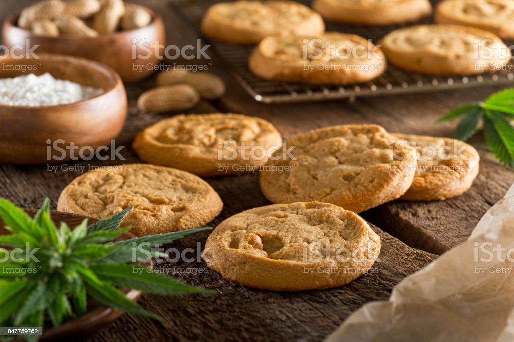 Marijuana Cookies stock photo