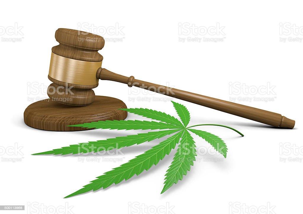 Marijuana drug use laws and legalization stock photo