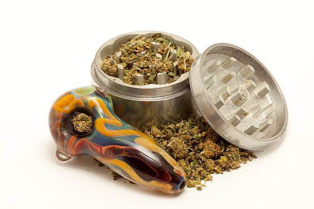 Marihuana montaje - foto de stock