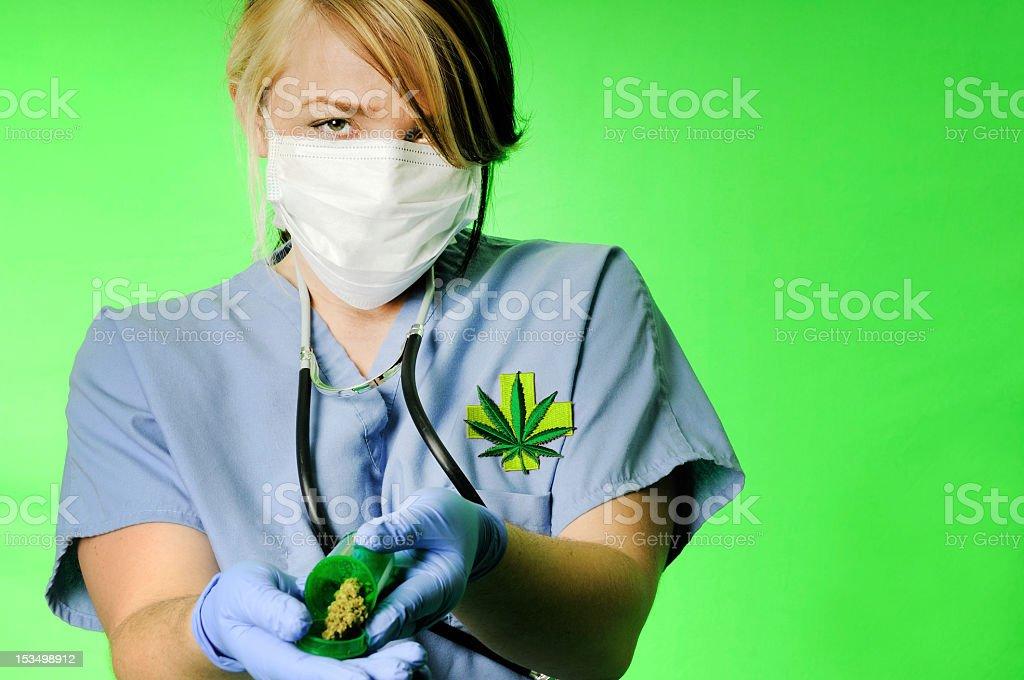 Marijuana Prescription stock photo