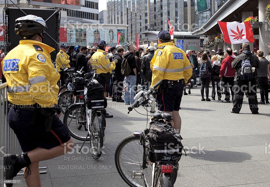 Marijuana Rally in Toronto stock photo