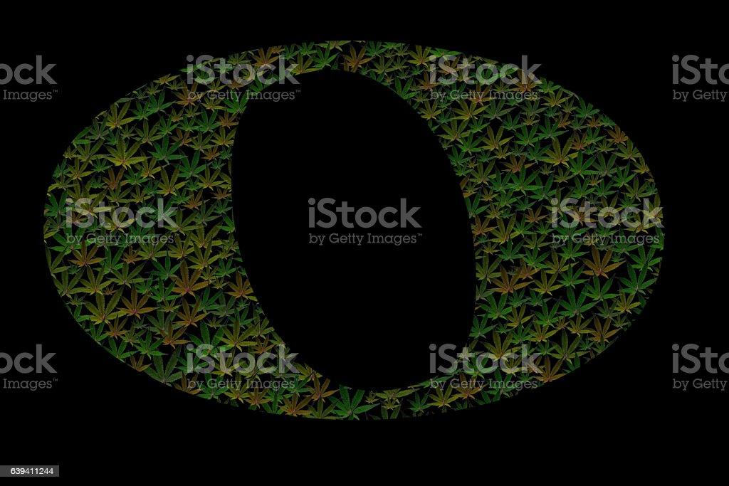 Marijuana Semibreve stock photo