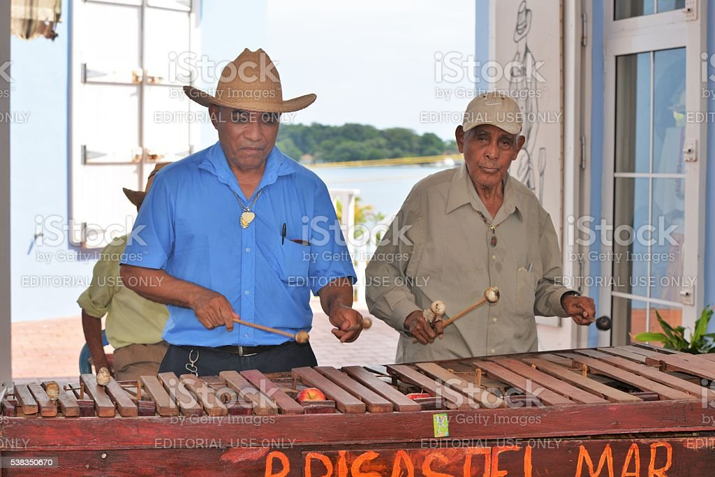 Marimba Band stock photo