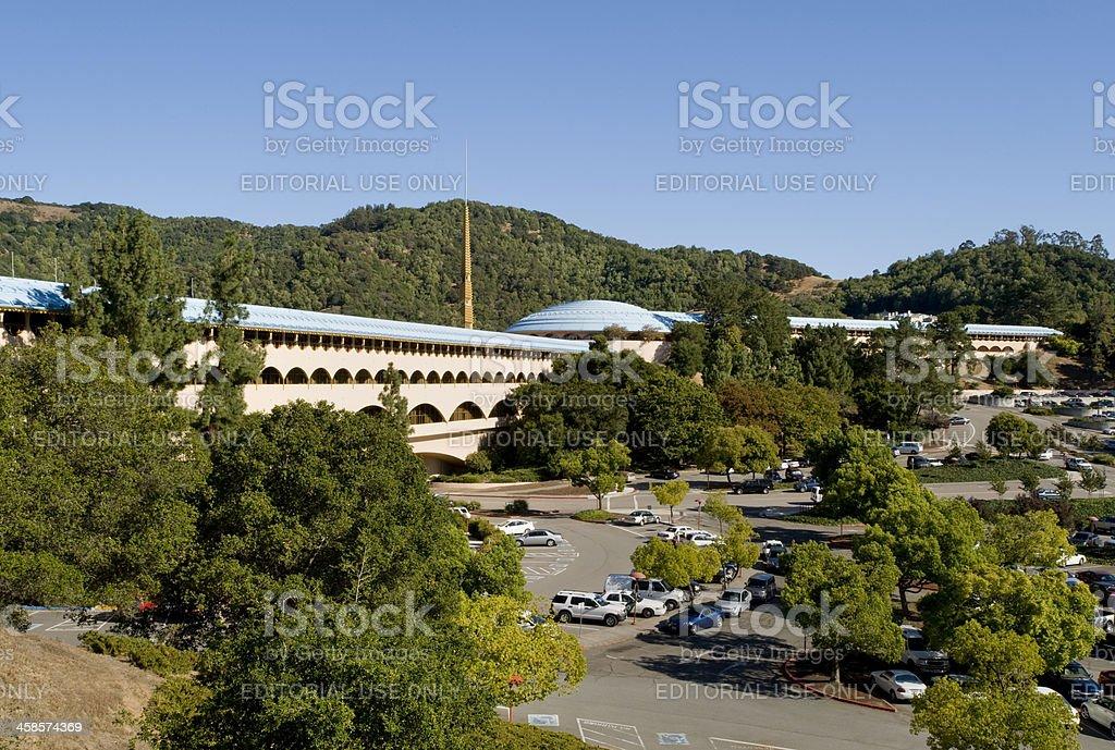 Marin County Civic Center stock photo