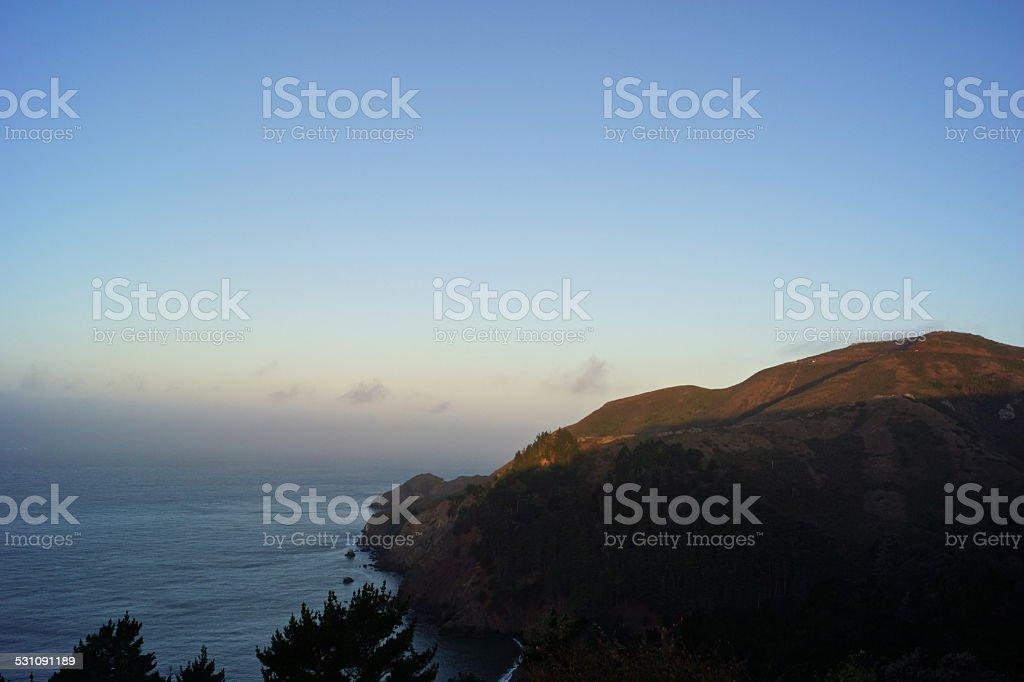 Marin County Coast stock photo