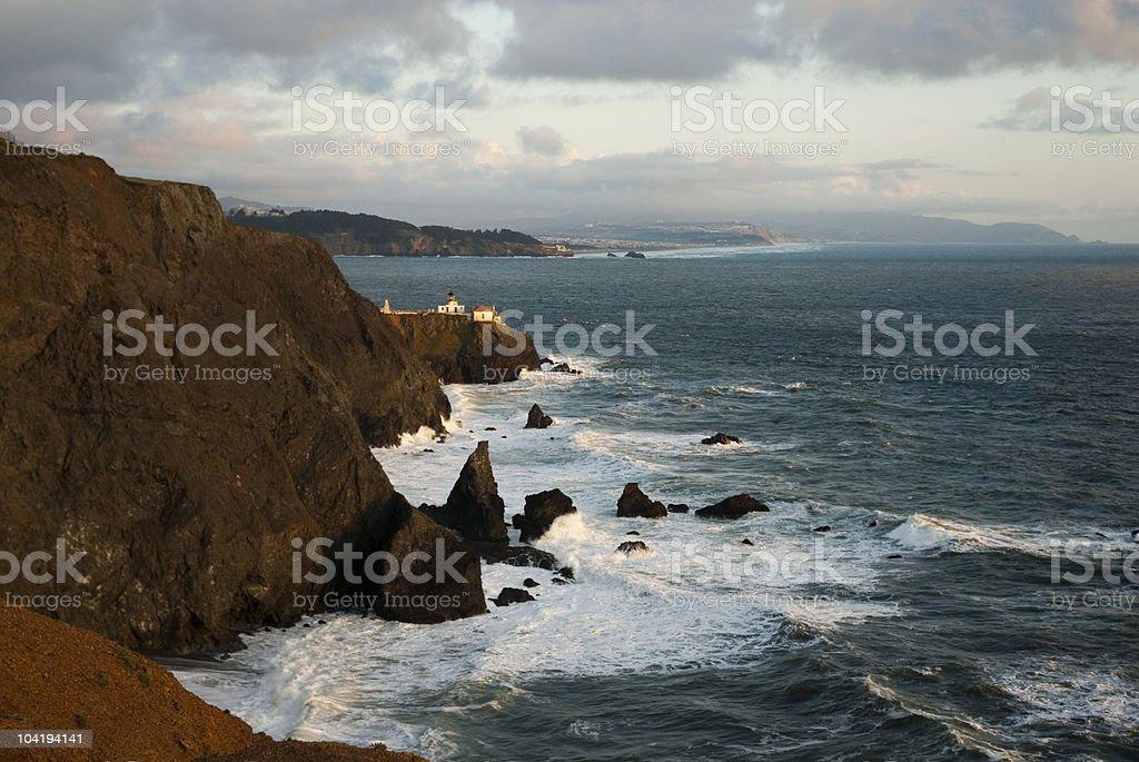 Marin Headlands Sunset royalty-free stock photo