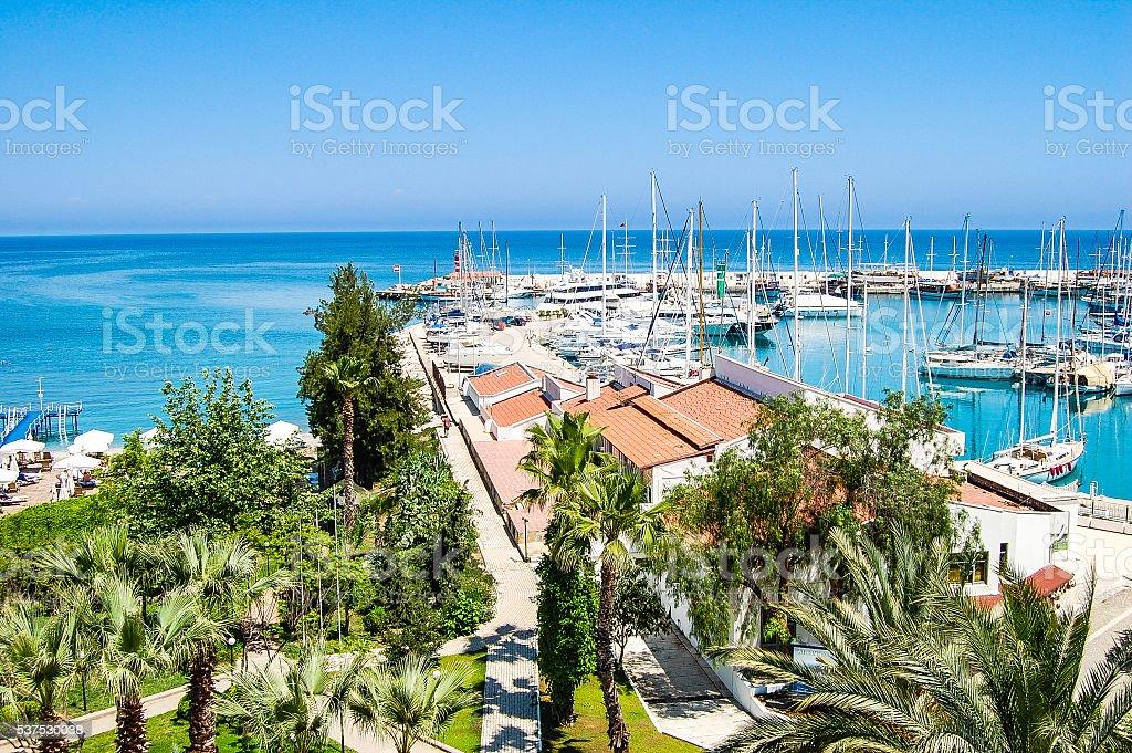 La Marina et les yachts de Kemer Turquie-ville - Photo
