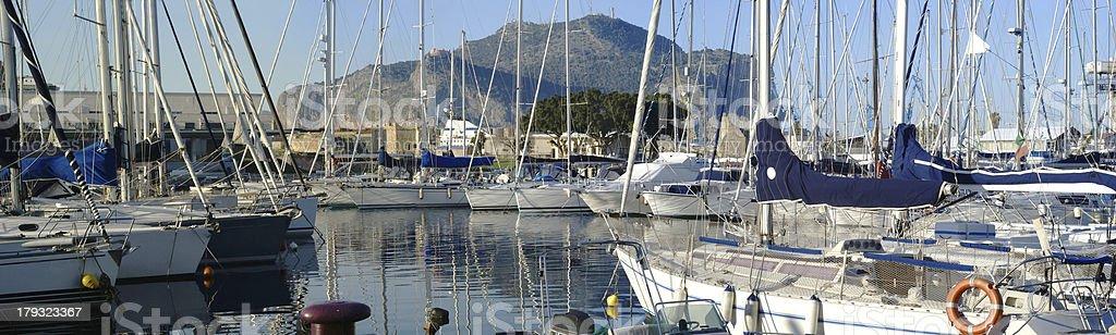 Marina di Palermo. Sicilia - foto stock