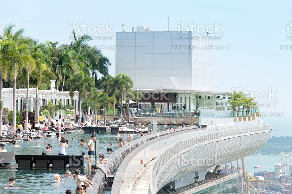 The marina bay sands hotel in singapore piscinas t - Singapore hotel piscina ...