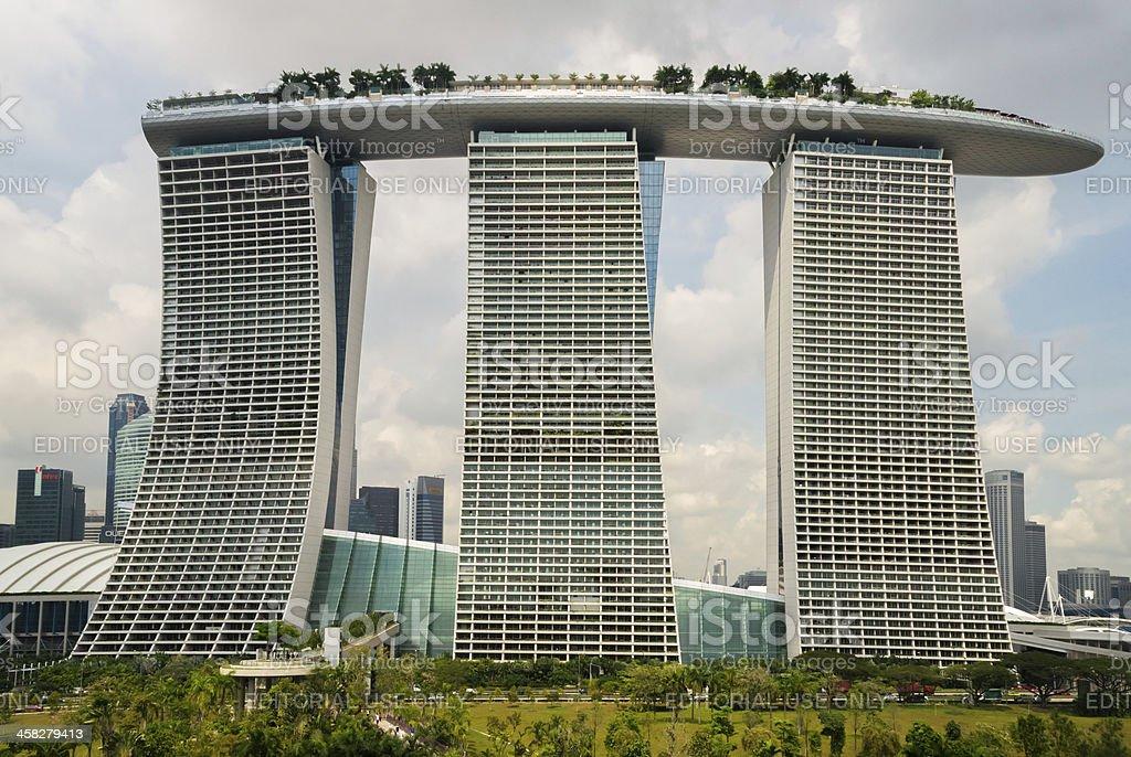 Marina Bay Sands royalty-free stock photo