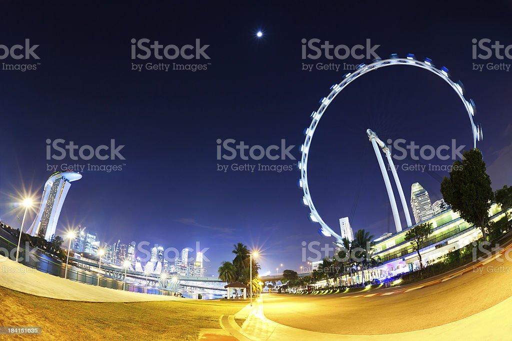 Marina Bay, Singapore royalty-free stock photo