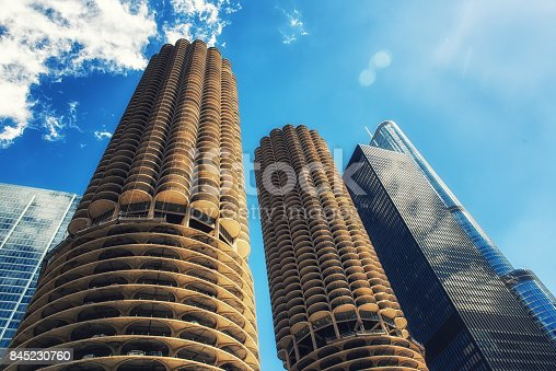 Marina Towers, Chicago, Illinois, United States of America, North America