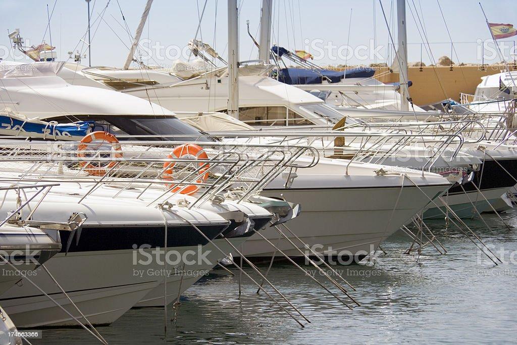 Marina Del Mar royalty-free stock photo
