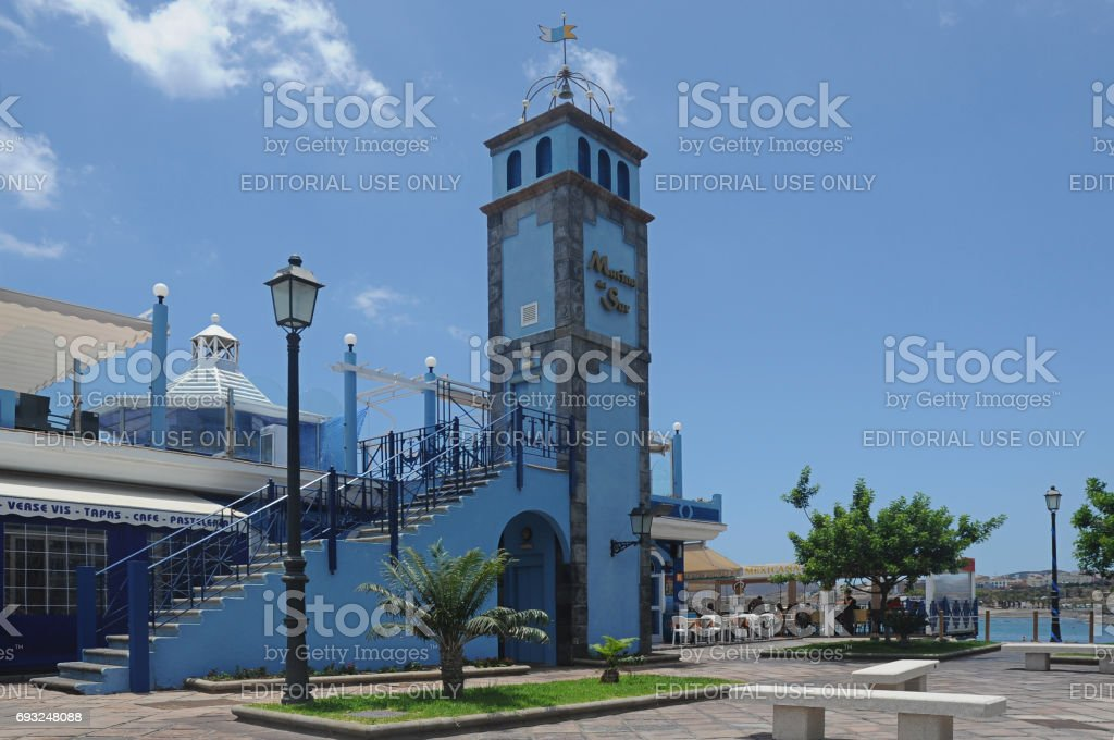 Marina del Sur, Las Galletas, Tenerife, Spain stock photo