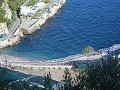 Marina di Puolo - spiaggia dall'alto
