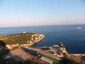 Marina di Puolo - spiaggia e lido dall'alto