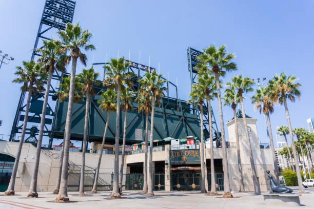 Marina Gate of the AT&T Park, San Francisco stock photo