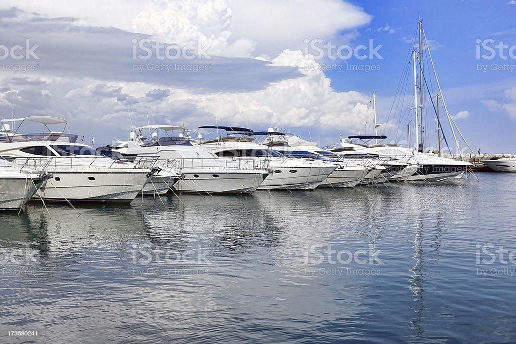 Marina Icici royalty-free stock photo
