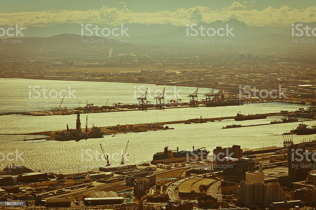 Marina in Cape Town royalty-free stock photo