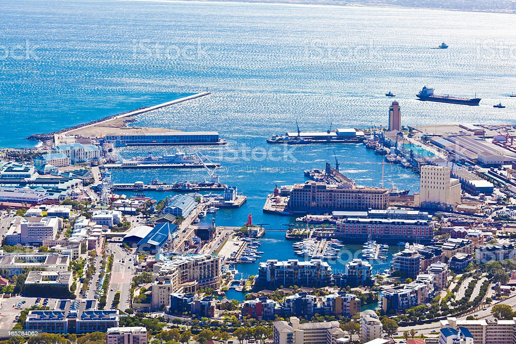 Jachthafen im Cape Town Lizenzfreies stock-foto