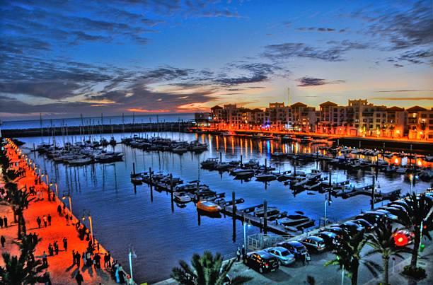 Marina d'Agadir - foto de stock