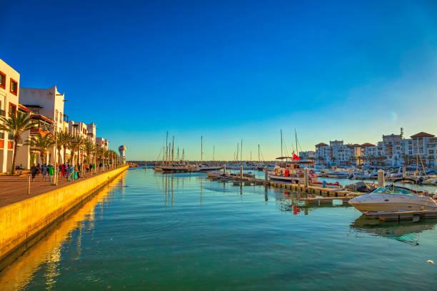 Marina de Agadir - foto de stock