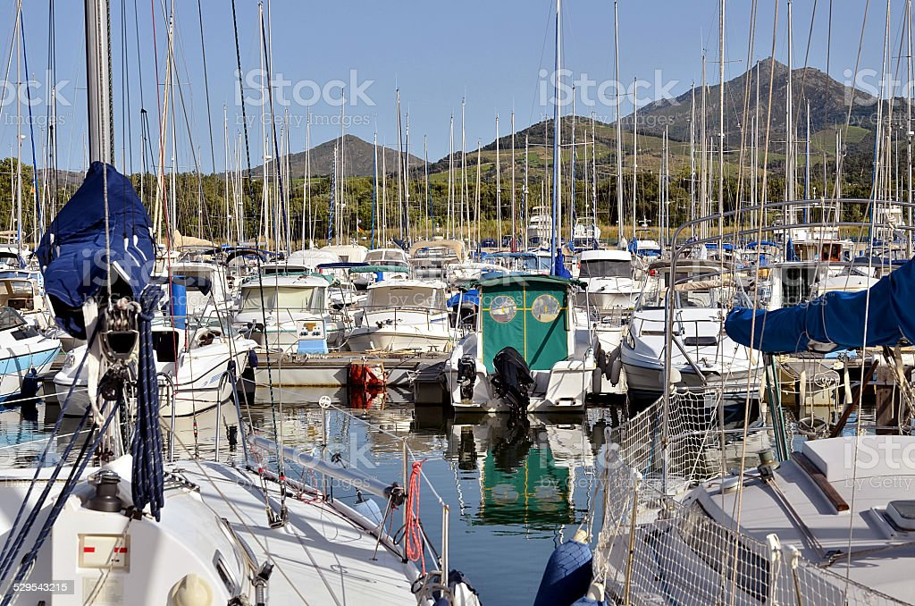 Marina de Argelès-sur-Mer, en France - Photo