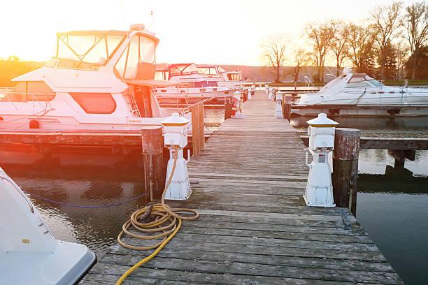 Marina on Lake Cayuga – Foto
