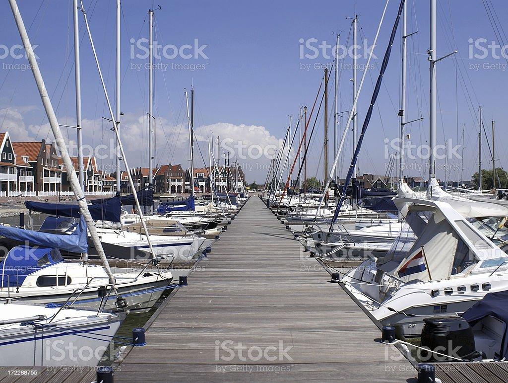 Marina park royalty-free stock photo