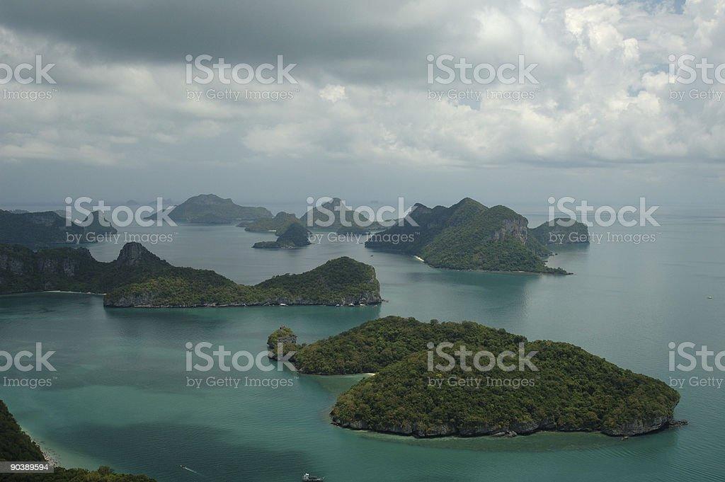 Marina Park Thailand stock photo