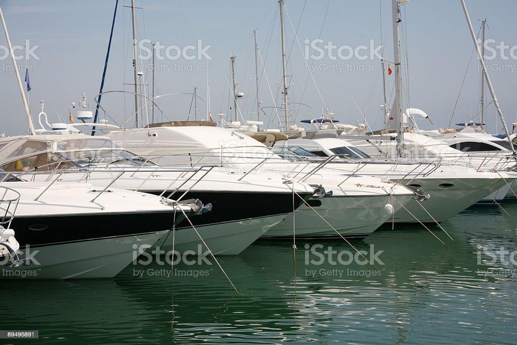Marina royalty free stockfoto