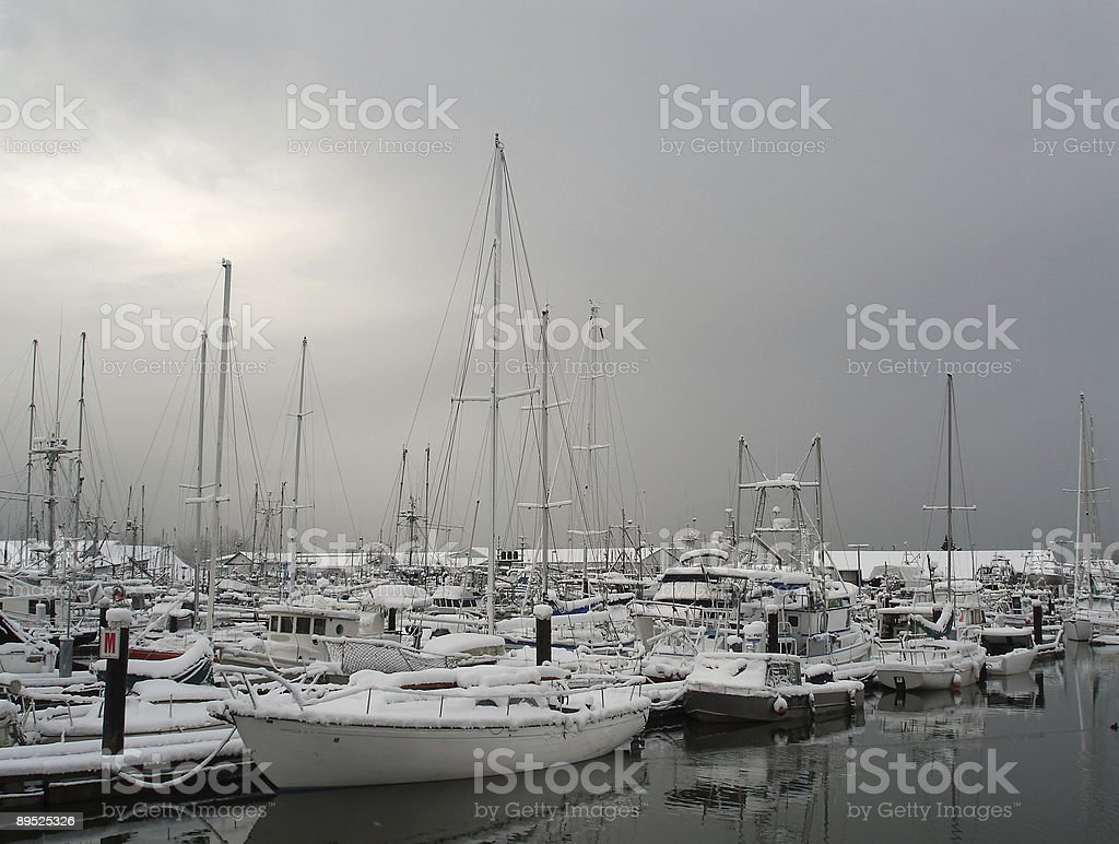Marina Snow stock photo