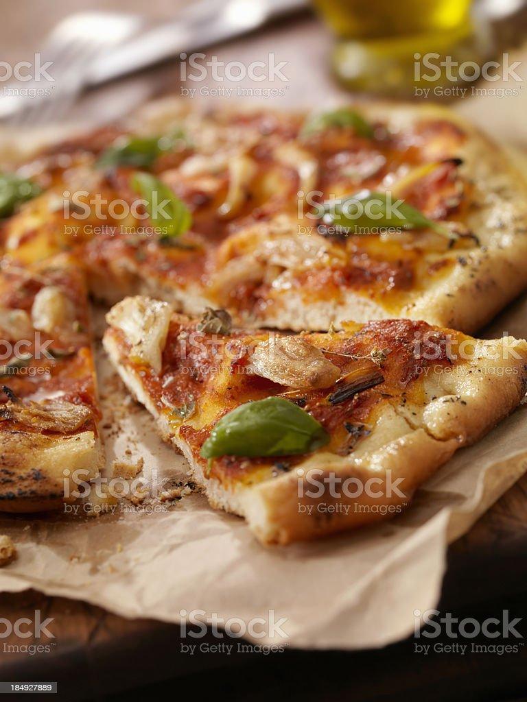 Marinara Pizza stock photo