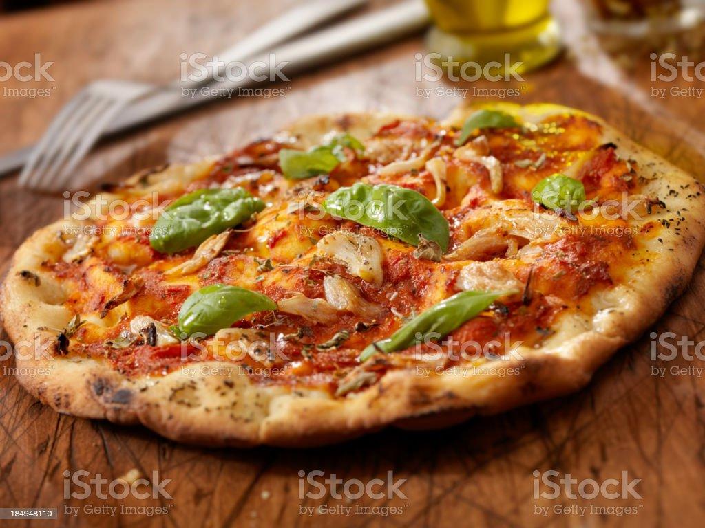 Marinara Pizza royalty-free stock photo