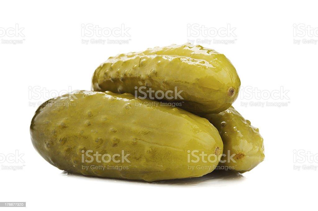 marinated cucumbers royalty-free stock photo
