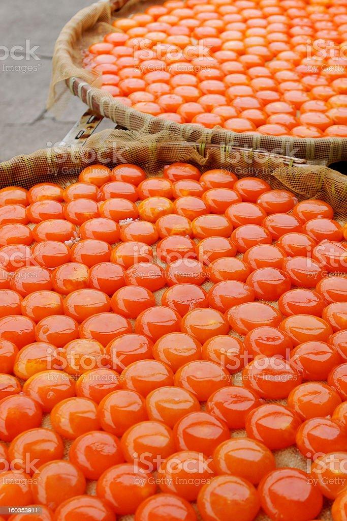 Marinated Eggs royalty-free stock photo