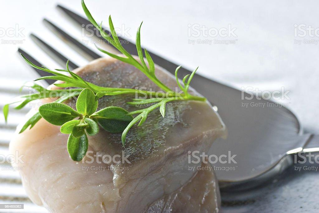 Marinated Fish royalty-free stock photo