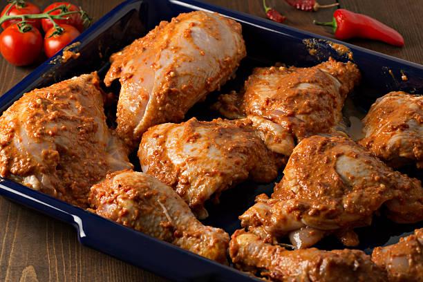 양념에 재기 치킨 - 양념에 재기 뉴스 사진 이미지