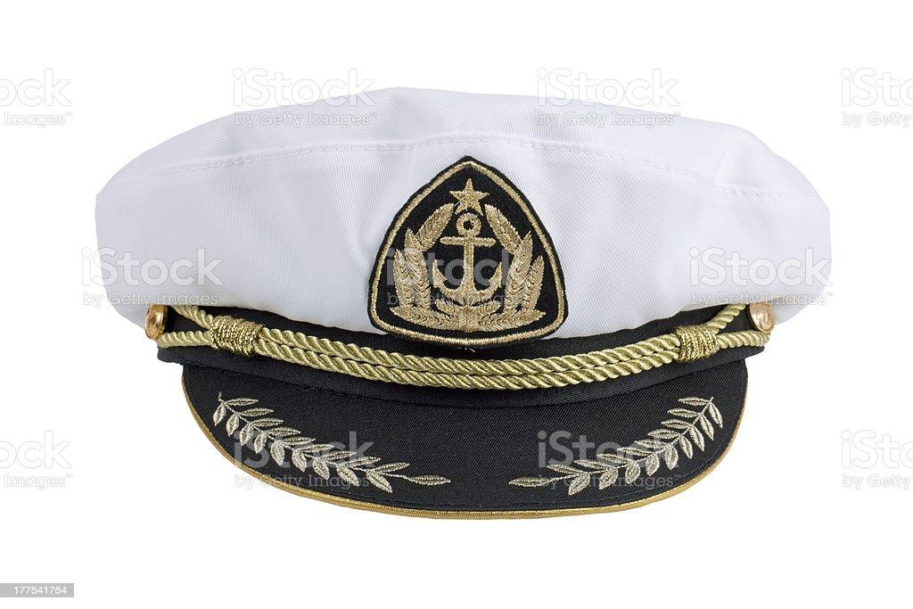 Marine cap stock photo