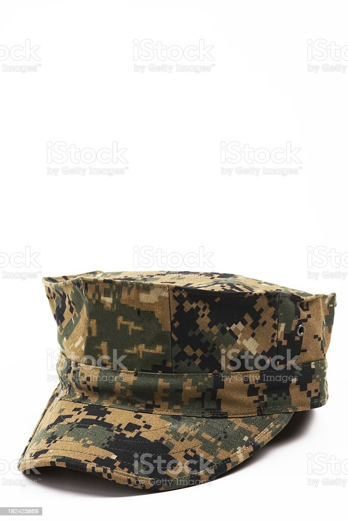 Marine Corps Green Cover royalty-free stock photo