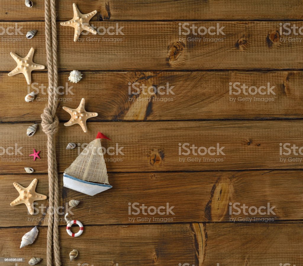 Marine decoration royalty-free stock photo