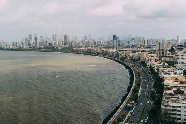 marine drive, mumbai - mumbai stockfoto's en -beelden