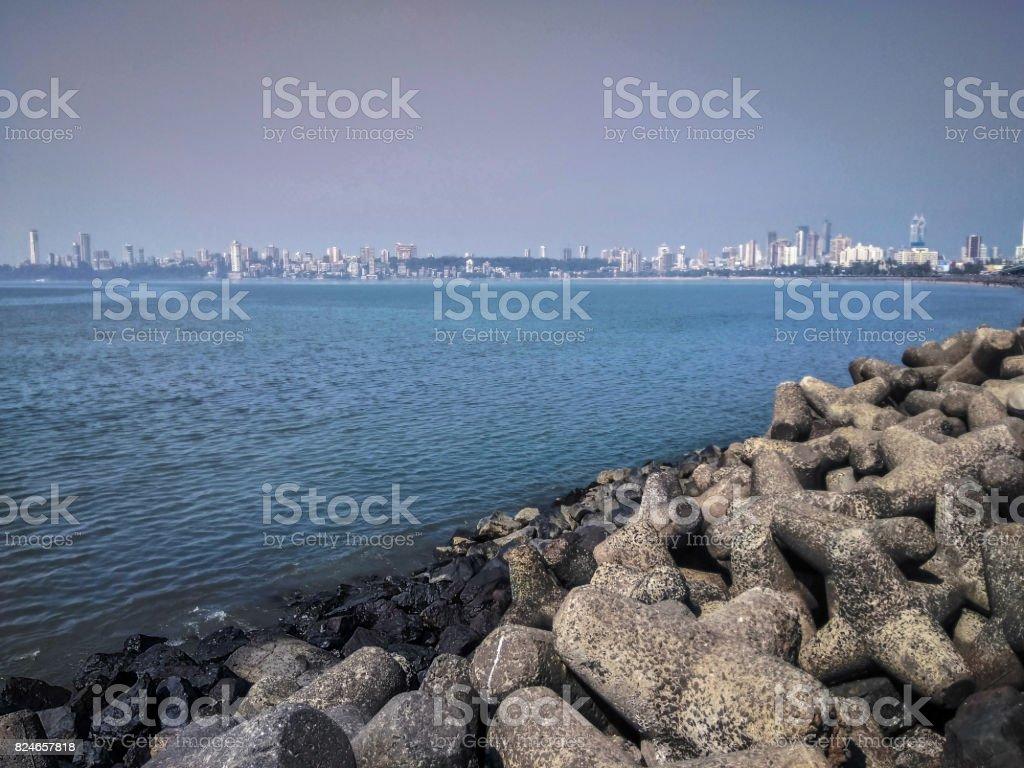 Marine Drive stock photo