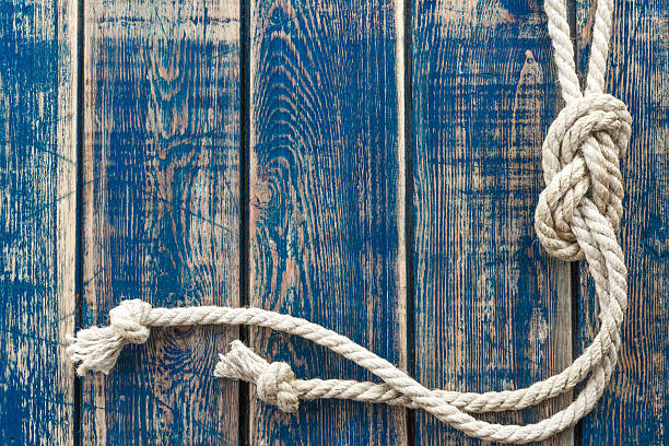 marine knot - vintage nautical stock photos and pictures